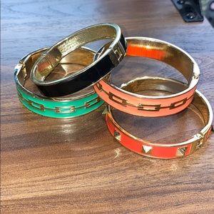 H&M fashion clasp cuff bangles